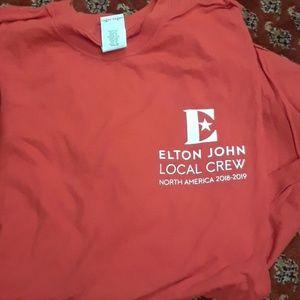 Elton John Tour Local Crew Tshirt 2019